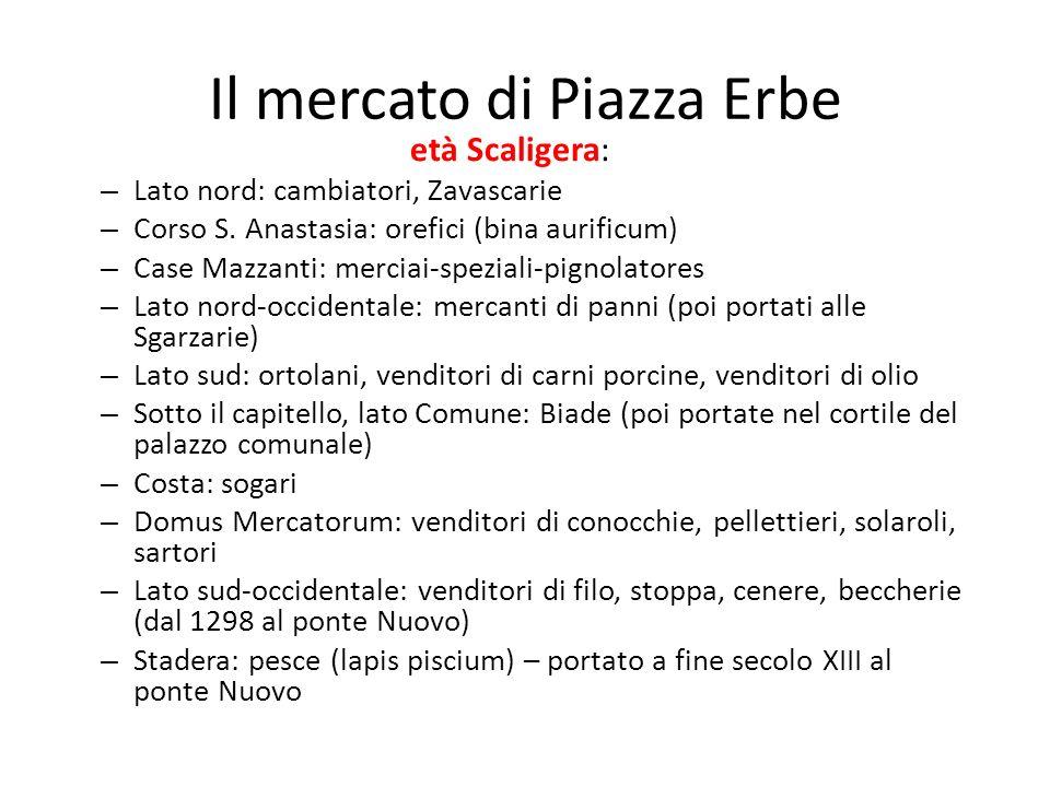 Il mercato di Piazza Erbe
