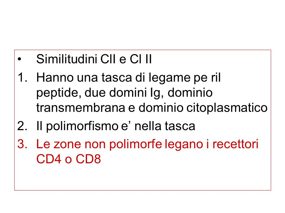 Similitudini ClI e Cl II