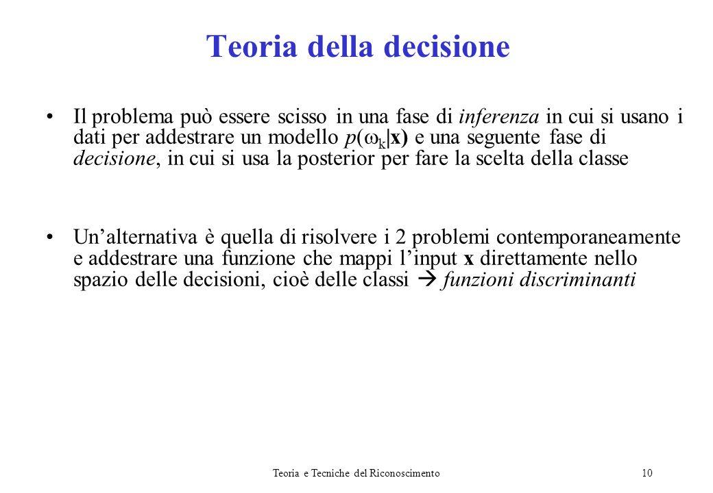 Teoria della decisione