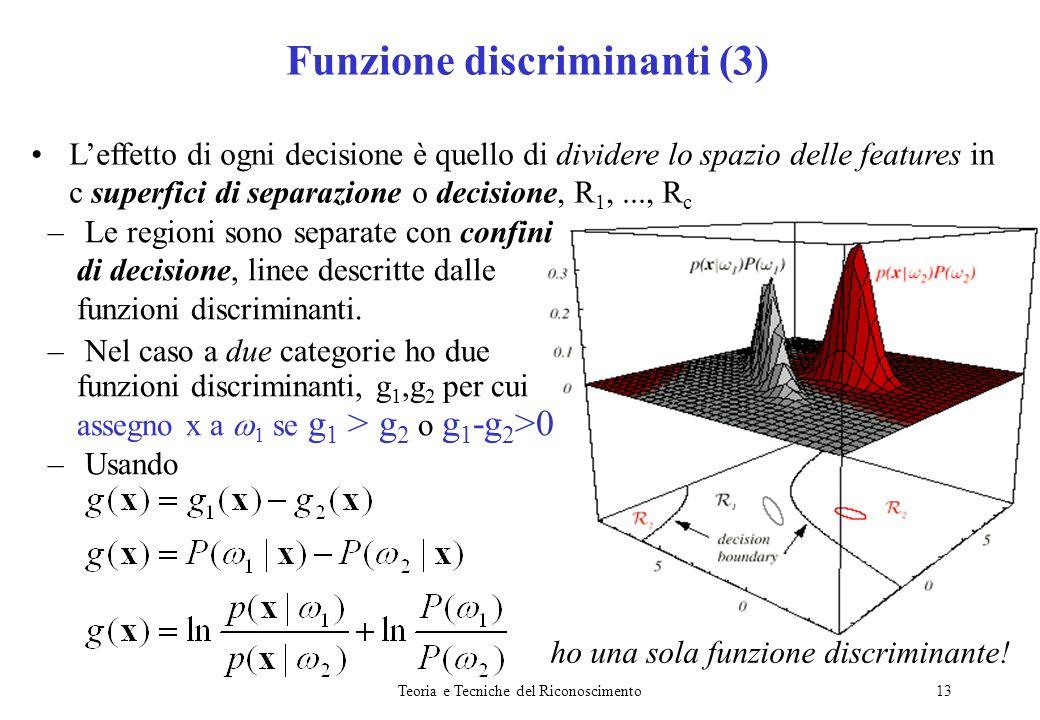 Funzione discriminanti (3)