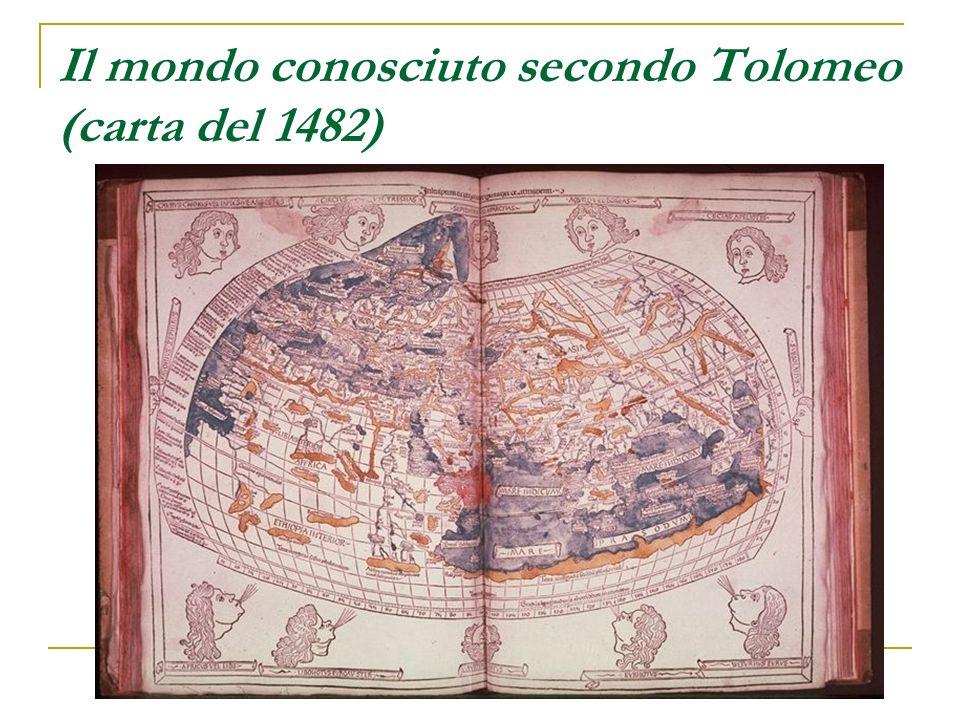 Il mondo conosciuto secondo Tolomeo (carta del 1482)