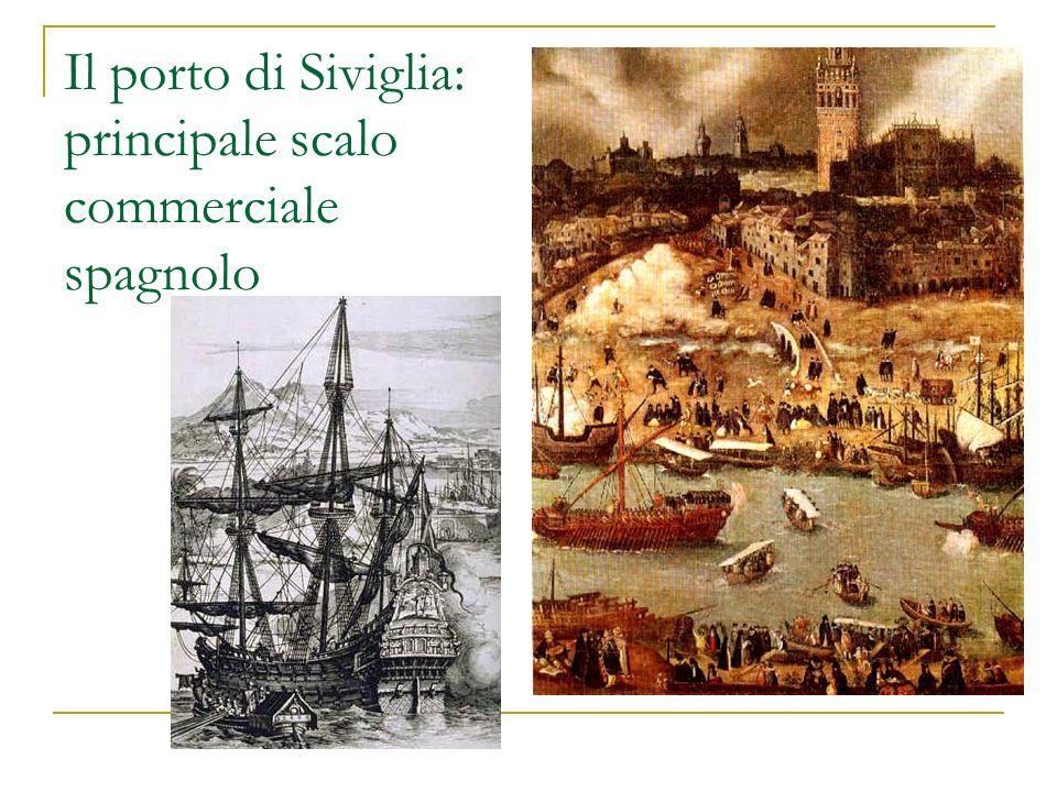 Il porto di Siviglia: principale scalo commerciale spagnolo