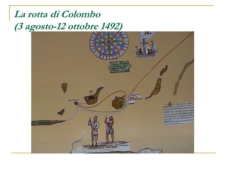 La rotta di Colombo (3 agosto-12 ottobre 1492)