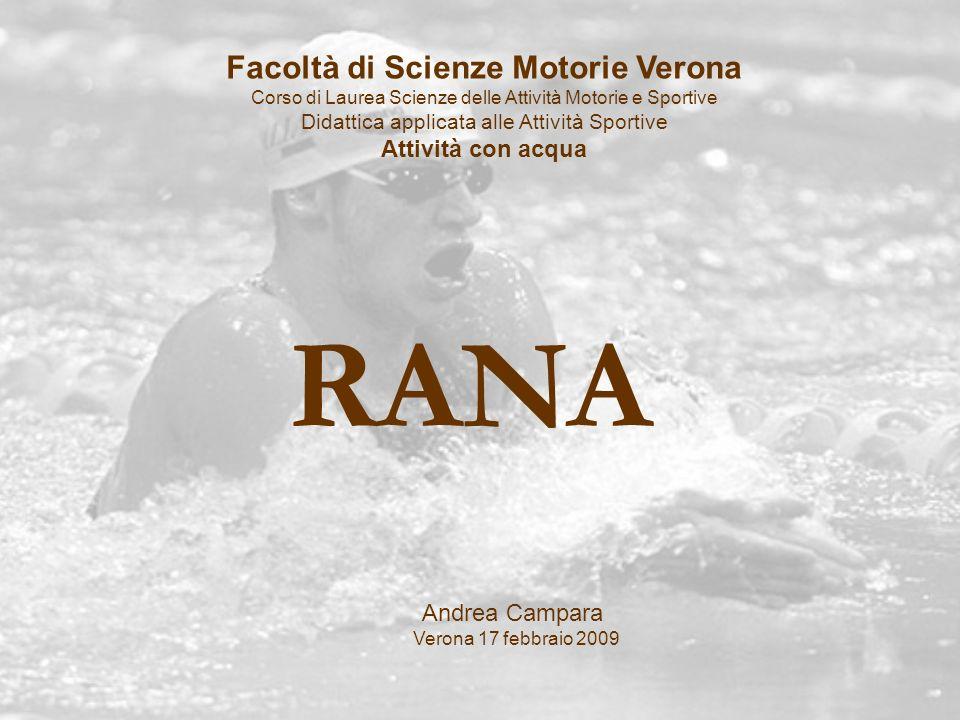 Facoltà di Scienze Motorie Verona