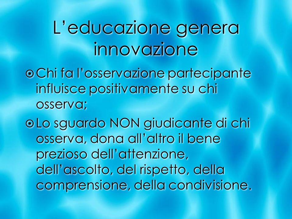 L'educazione genera innovazione