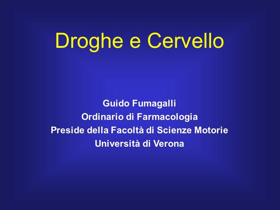 Ordinario di Farmacologia Preside della Facoltà di Scienze Motorie