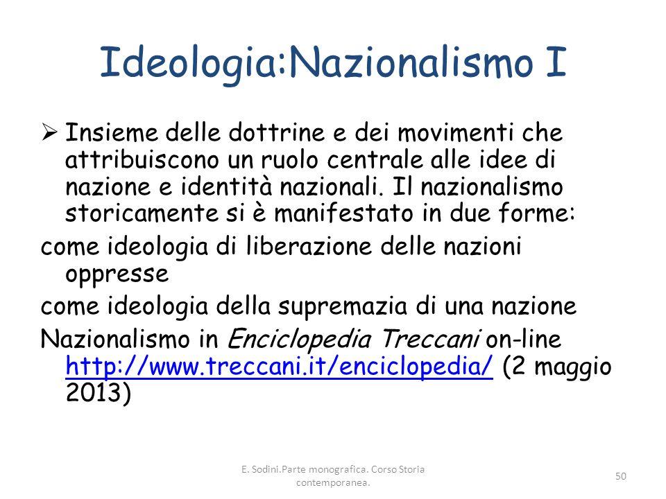 Ideologia:Nazionalismo I