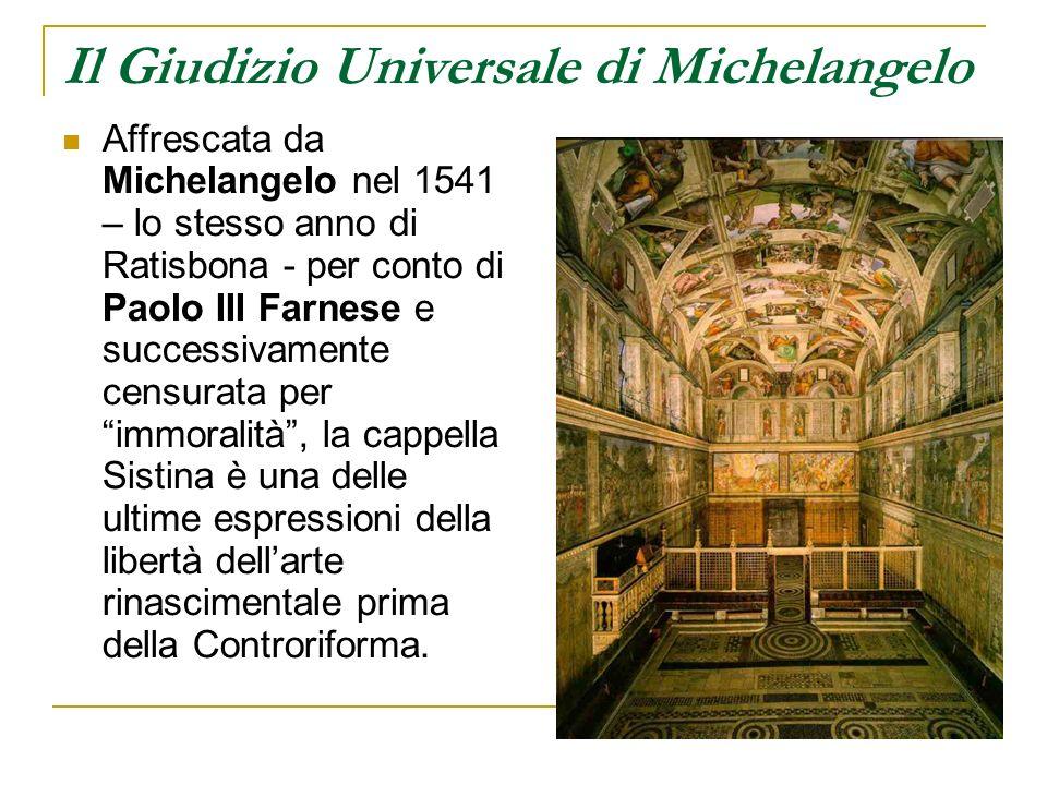 Il Giudizio Universale di Michelangelo