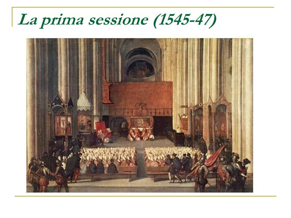 La prima sessione (1545-47)