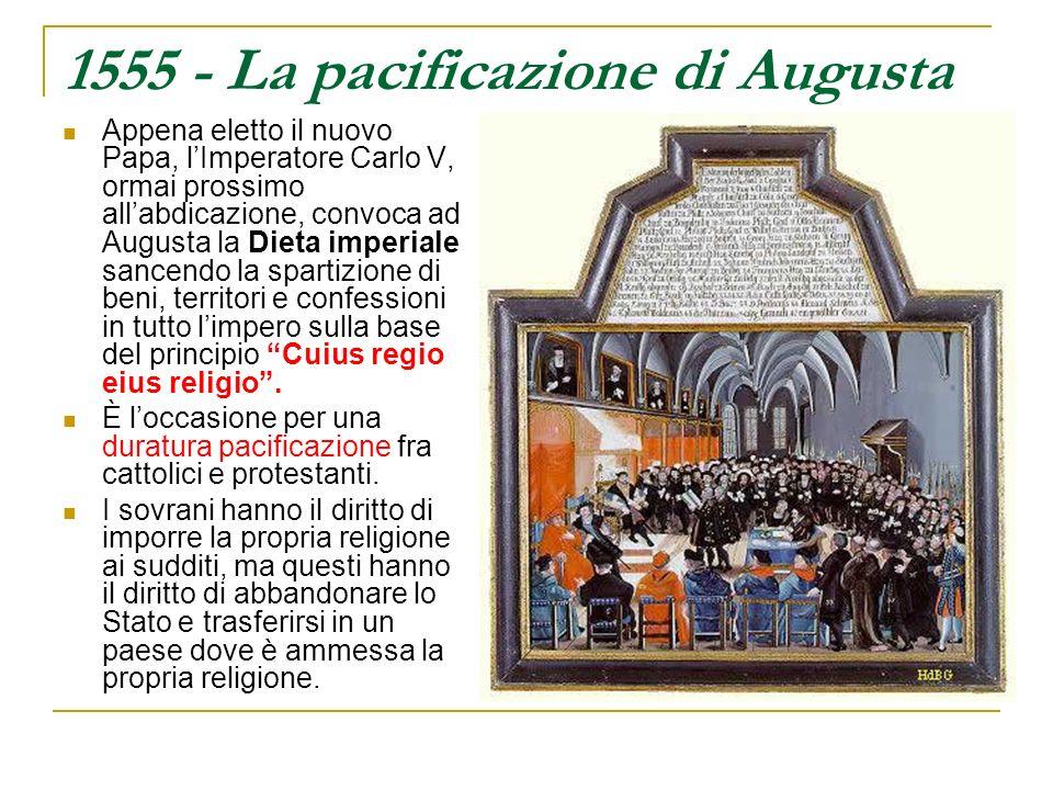 1555 - La pacificazione di Augusta