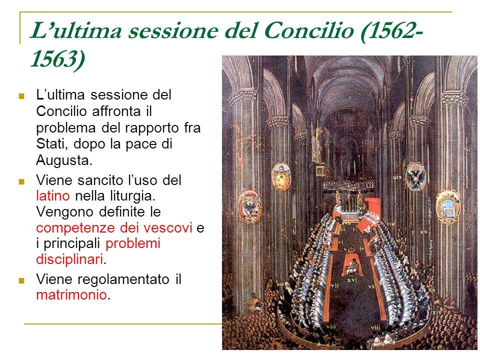 L'ultima sessione del Concilio (1562-1563)