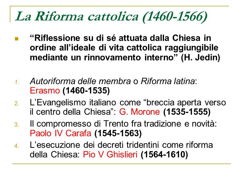 La Riforma cattolica (1460-1566)