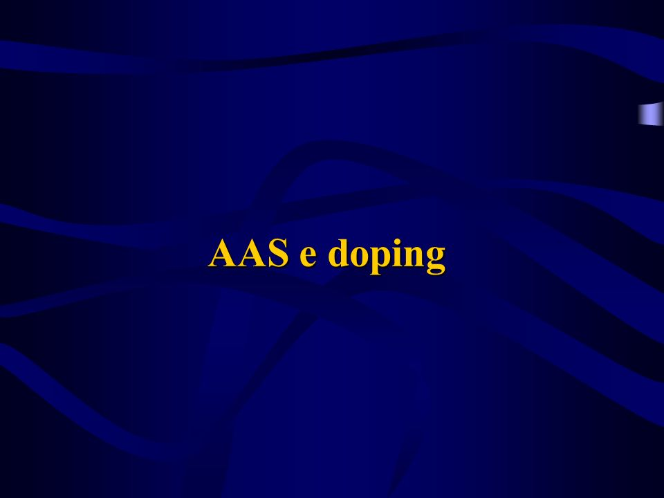 AAS e doping