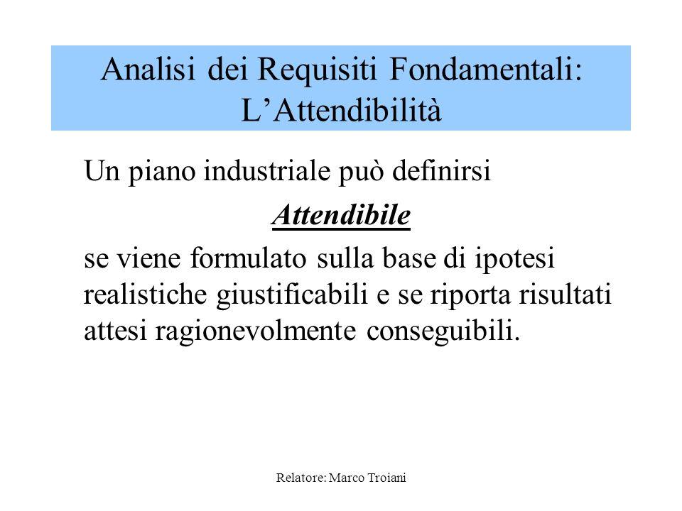 Analisi dei Requisiti Fondamentali: L'Attendibilità