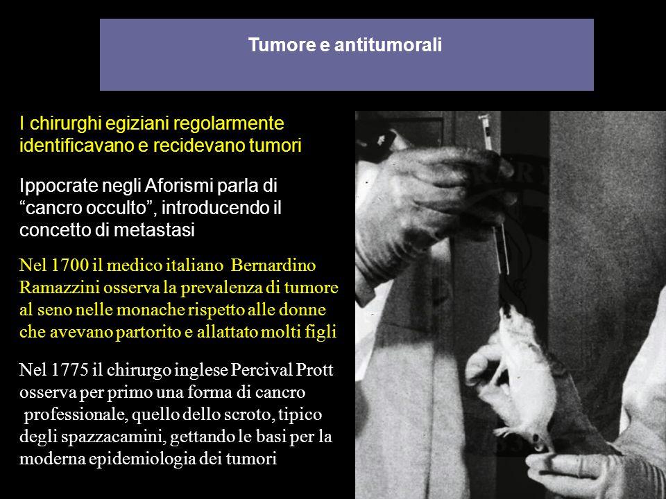 I chirurghi egiziani regolarmente identificavano e recidevano tumori
