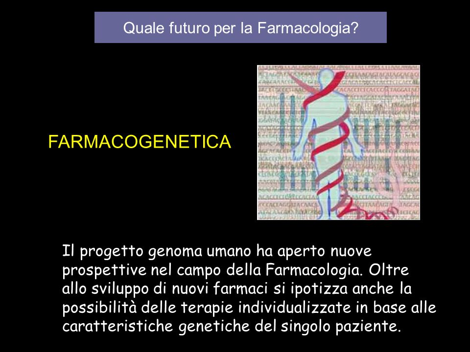 Quale futuro per la Farmacologia