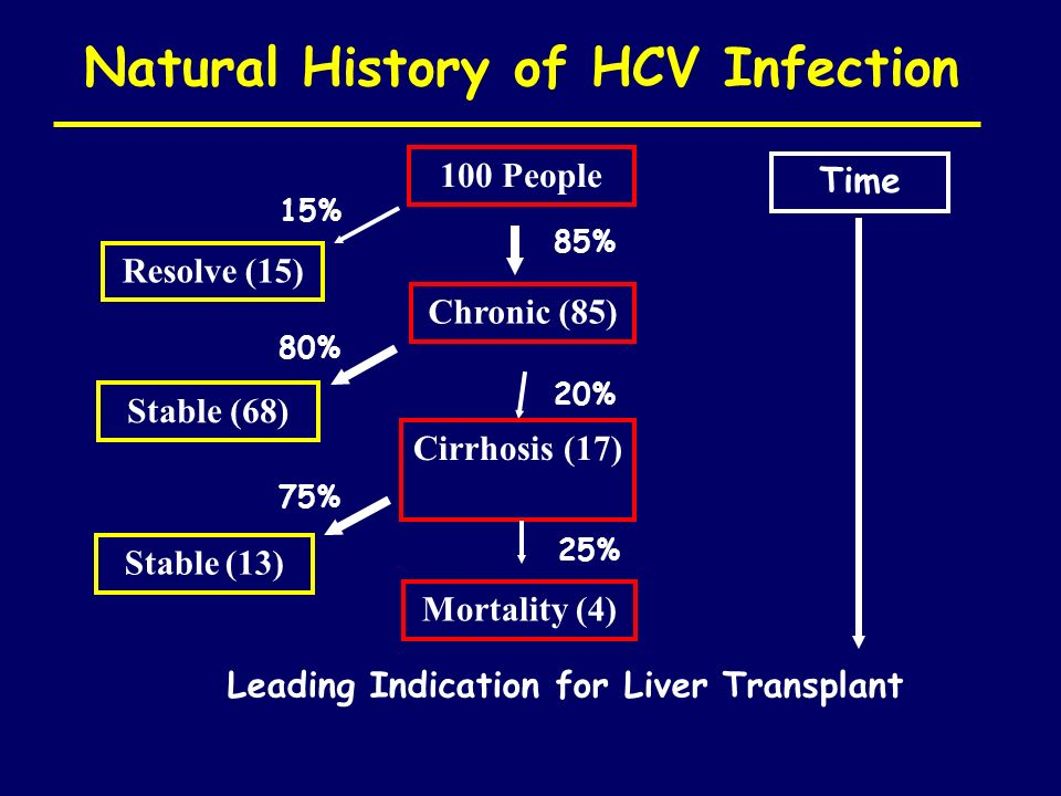 Natural History of HCV Infection