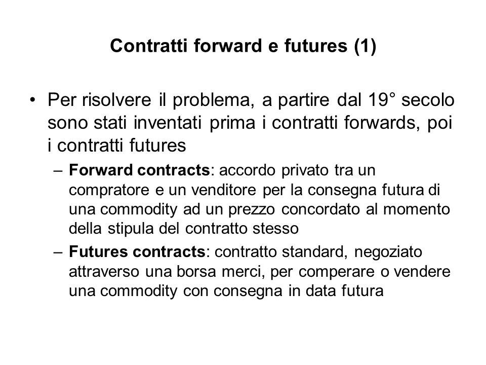 Contratti forward e futures (1)