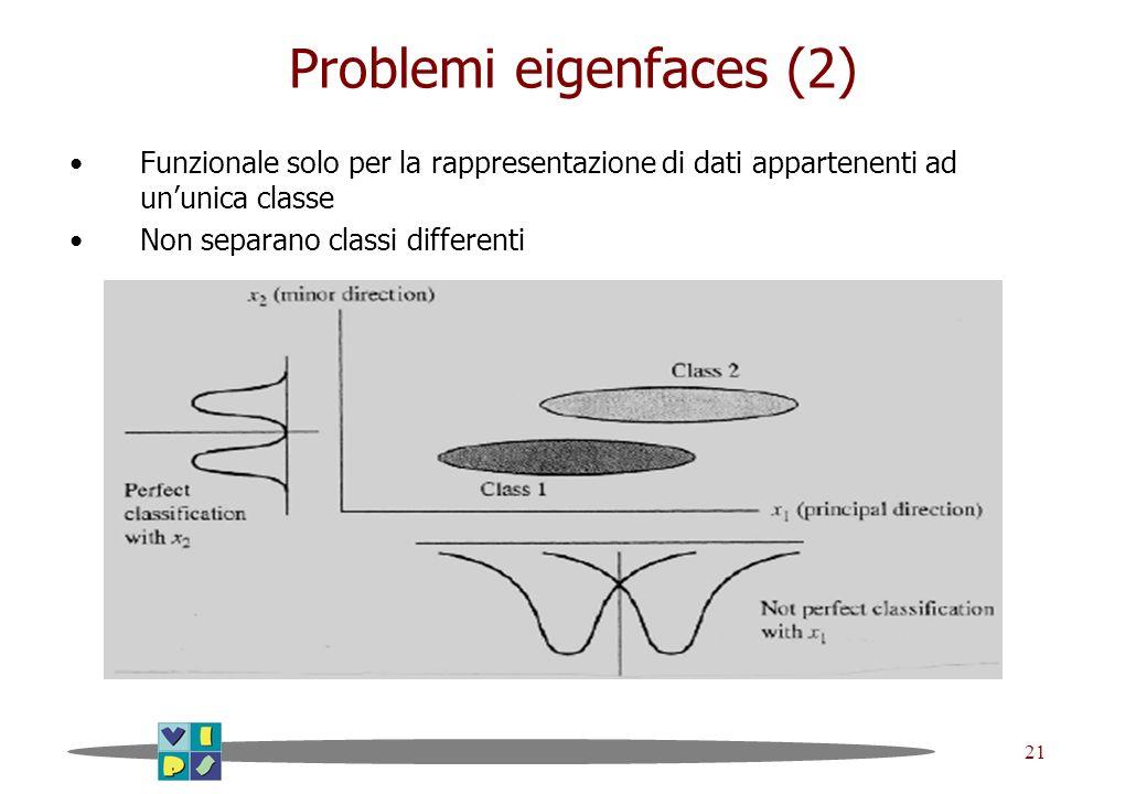 Problemi eigenfaces (2)
