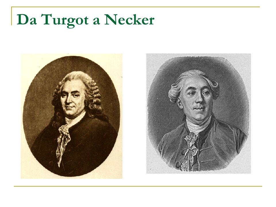 Da Turgot a Necker