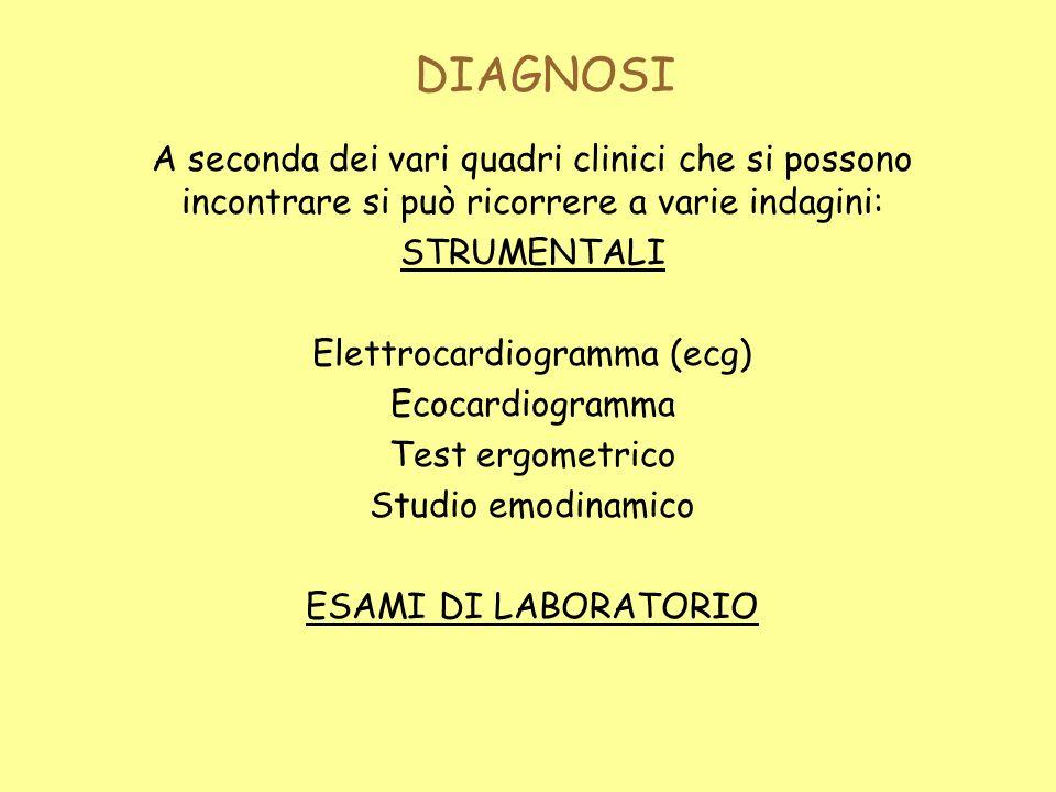 Elettrocardiogramma (ecg)