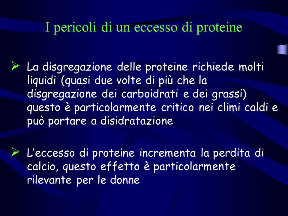 I pericoli di un eccesso di proteine