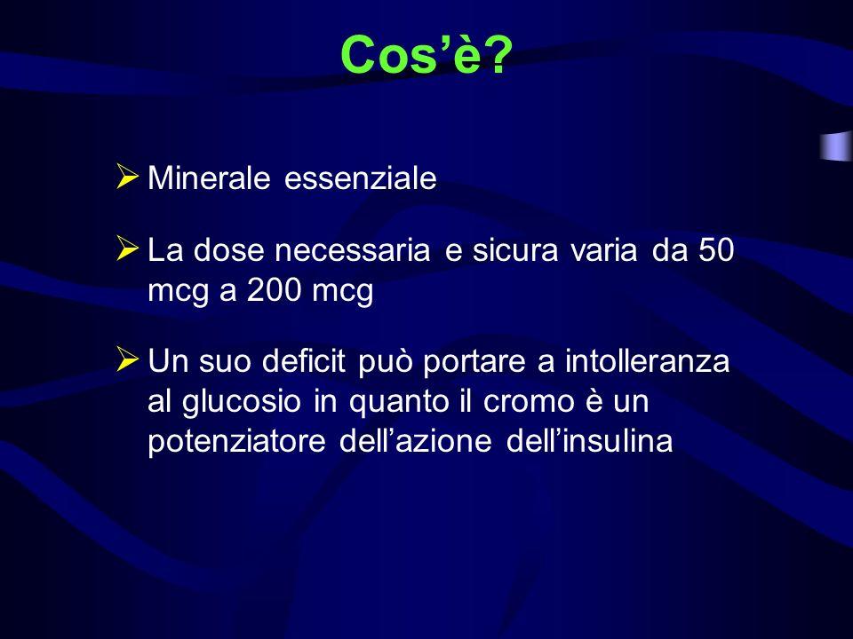 Cos'è Minerale essenziale