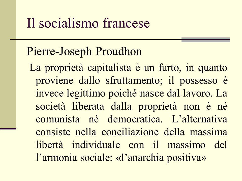 Il socialismo francese