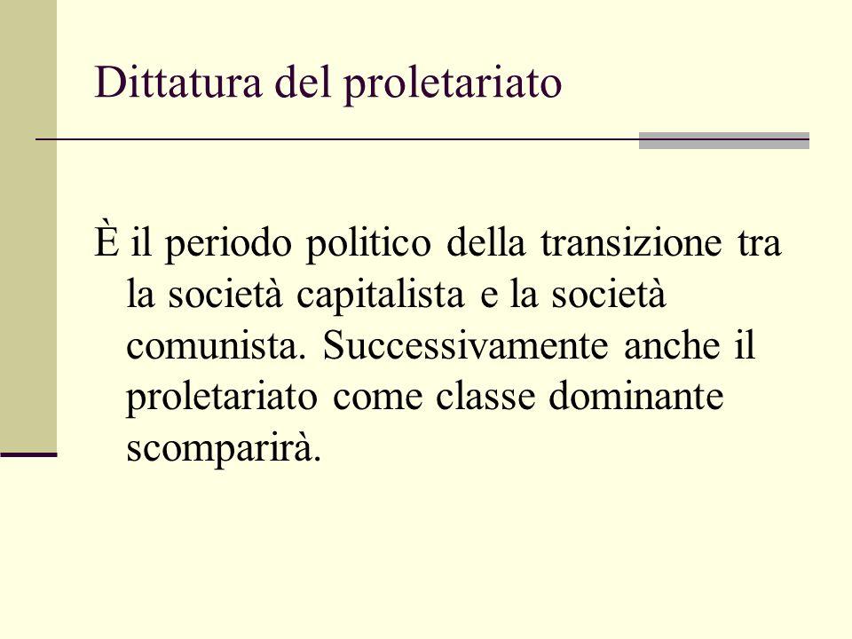 Dittatura del proletariato