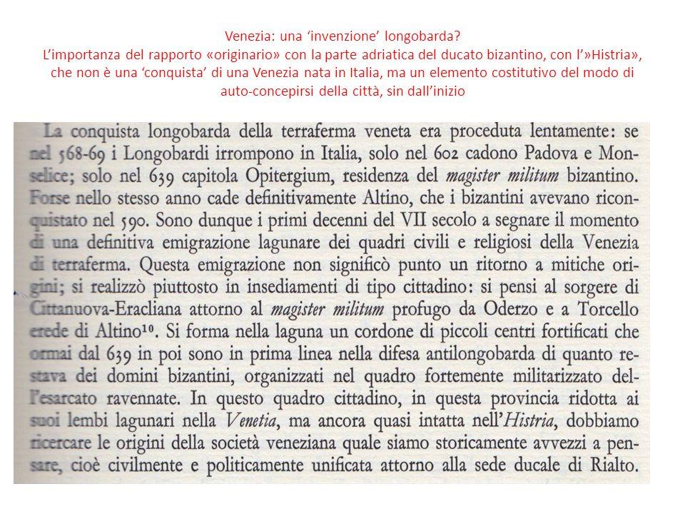 Venezia: una 'invenzione' longobarda