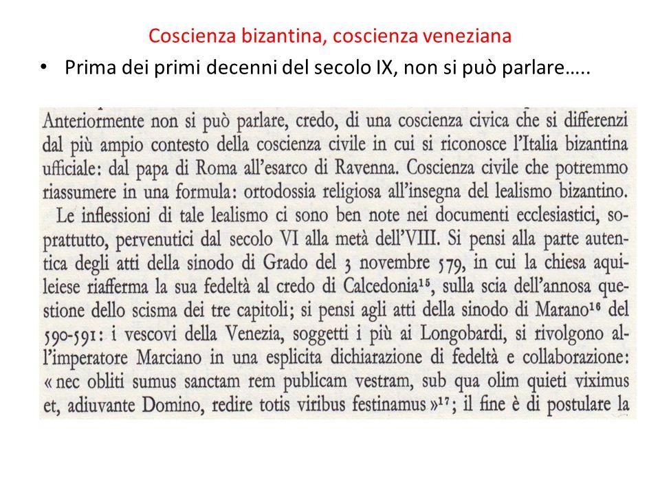 Coscienza bizantina, coscienza veneziana