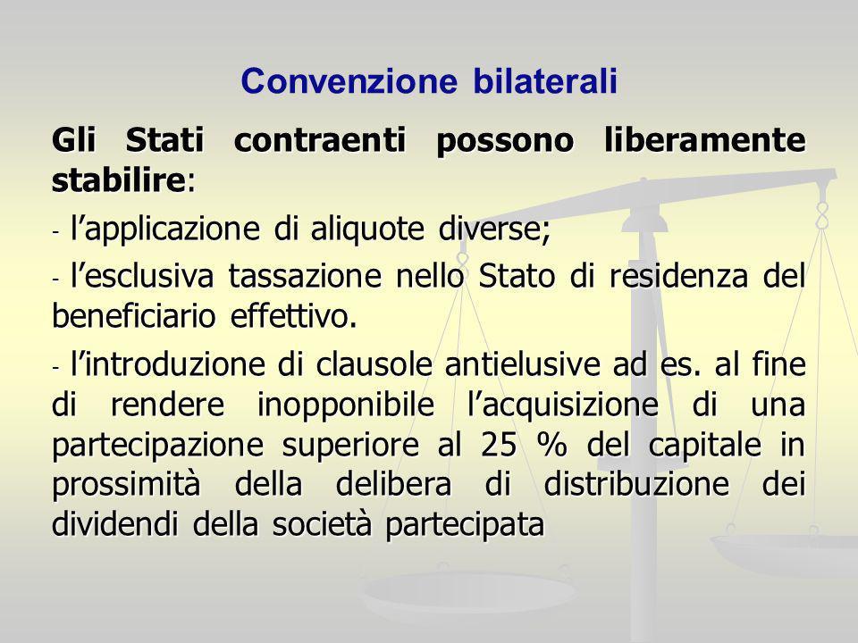 Convenzione bilaterali