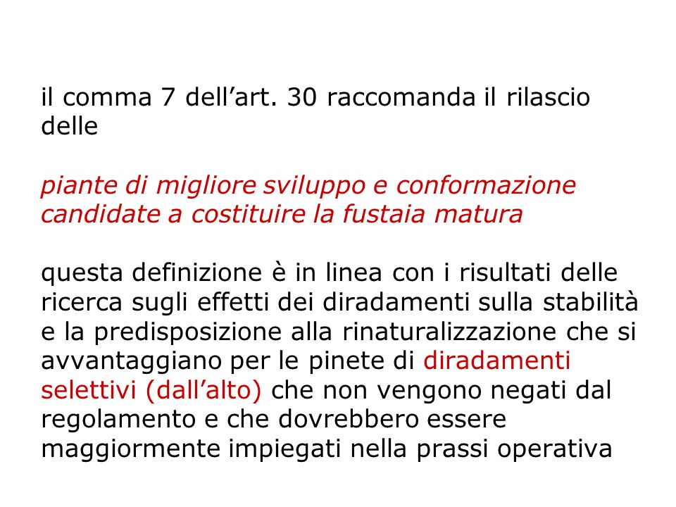 il comma 7 dell'art.