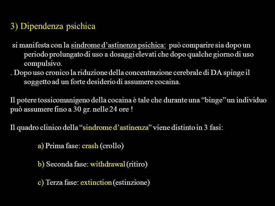 3) Dipendenza psichica