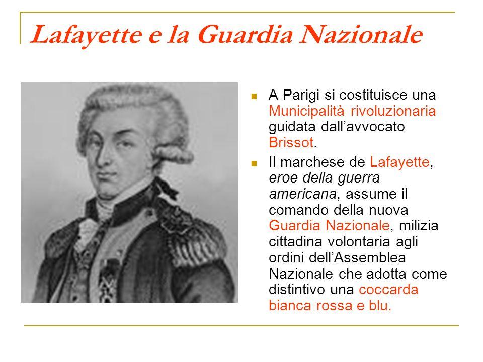 Lafayette e la Guardia Nazionale
