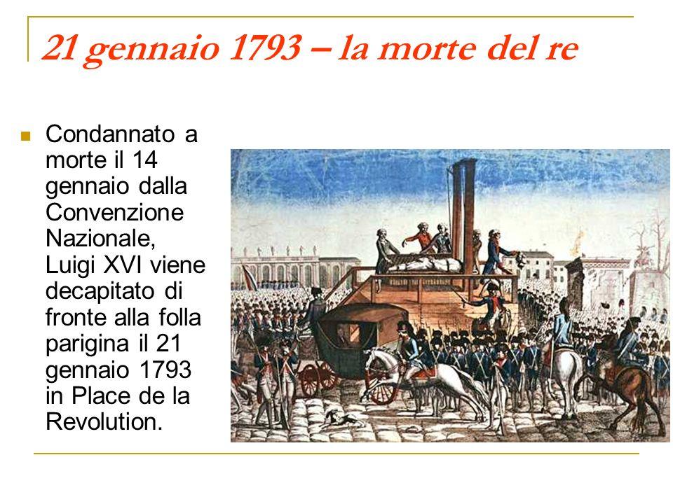 21 gennaio 1793 – la morte del re