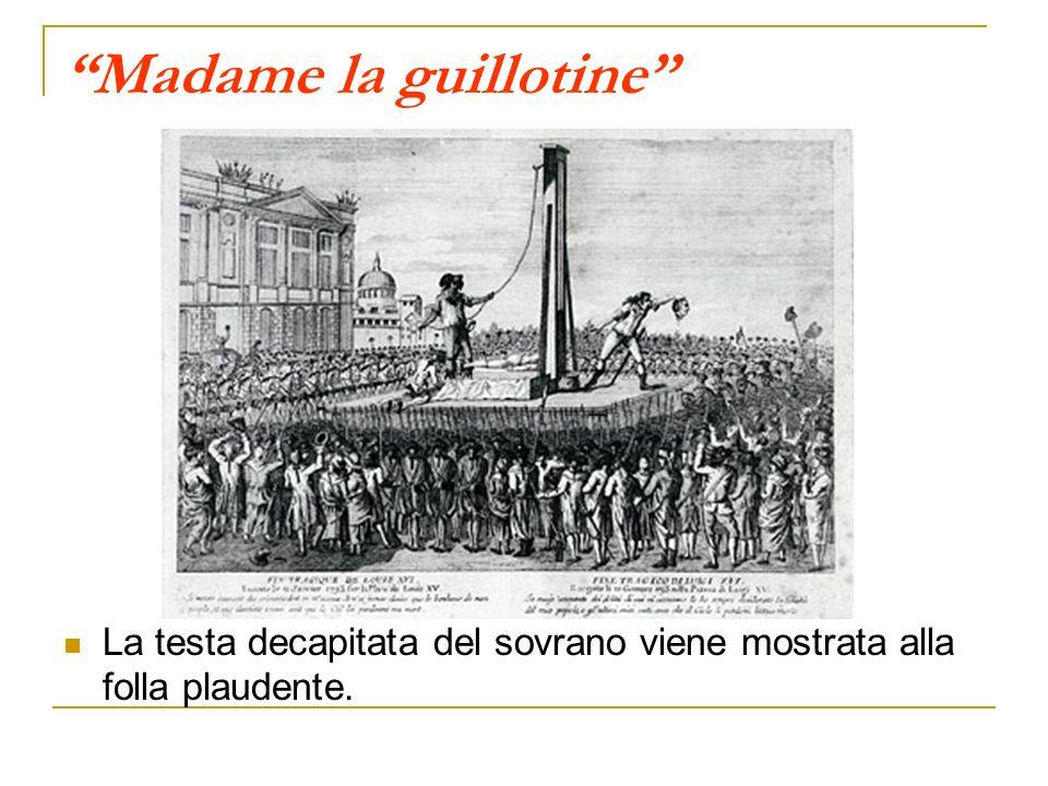 Madame la guillotine