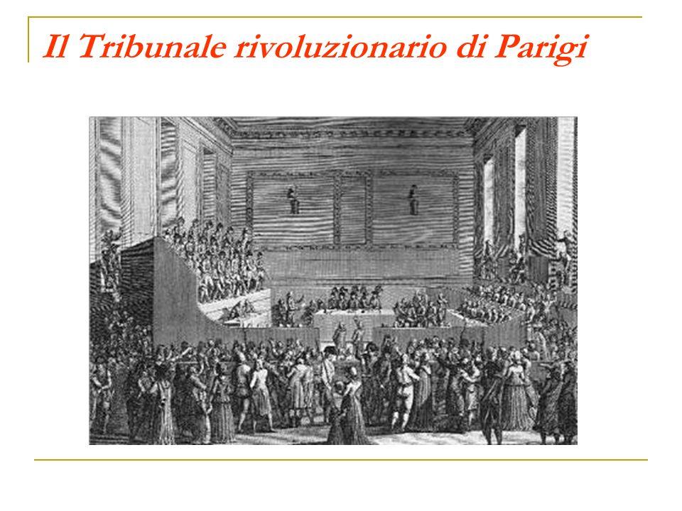 Il Tribunale rivoluzionario di Parigi