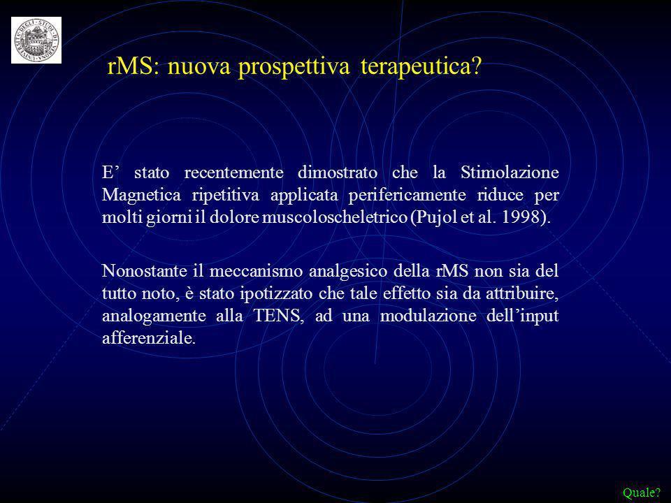 rMS: nuova prospettiva terapeutica