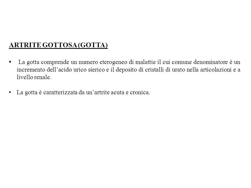 ARTRITE GOTTOSA (GOTTA)