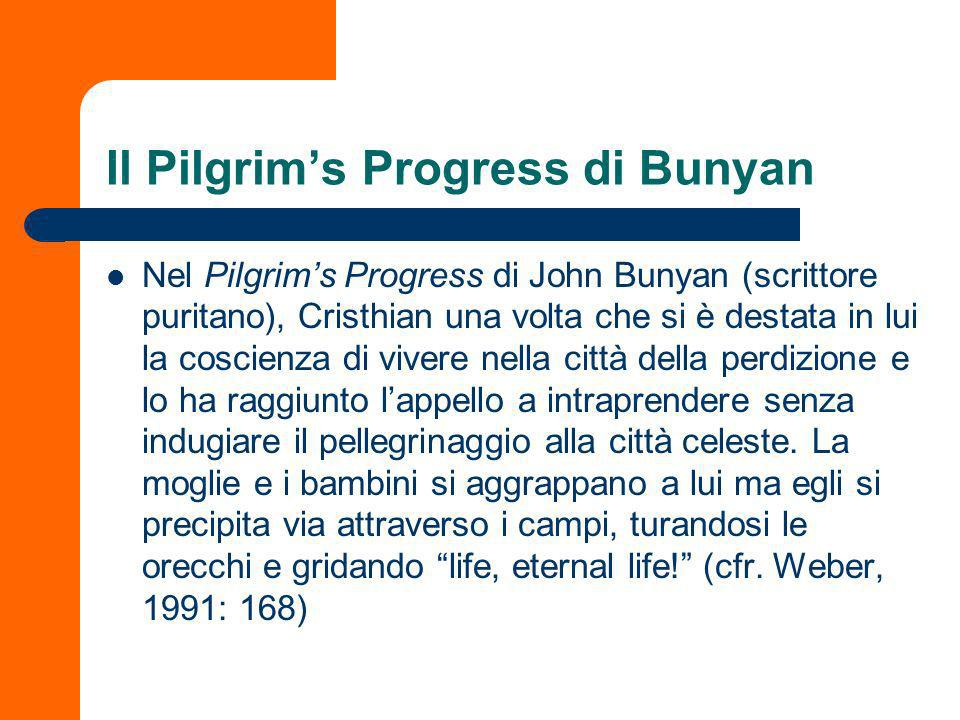 Il Pilgrim's Progress di Bunyan