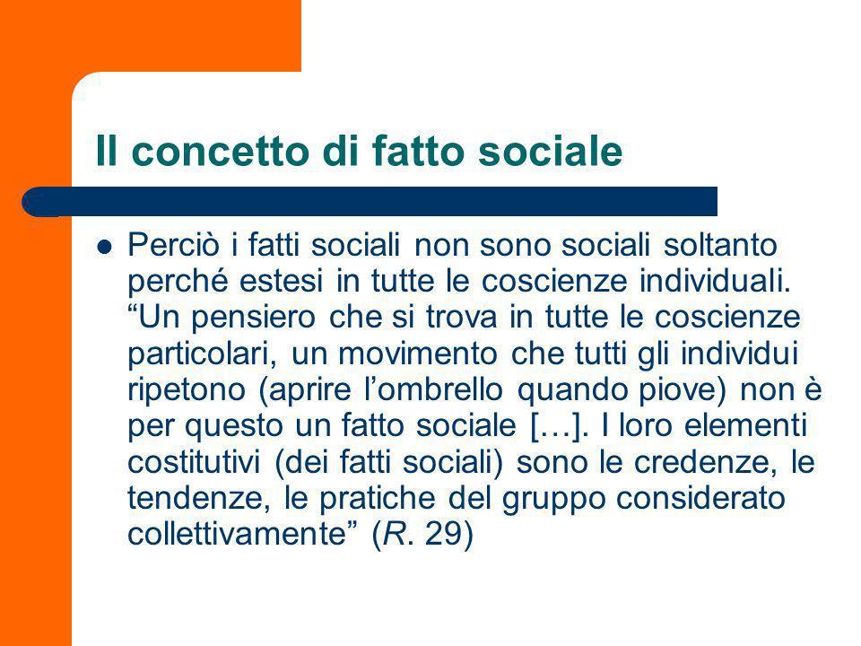 le regole del metodo sociologico e le loro applicazione ne