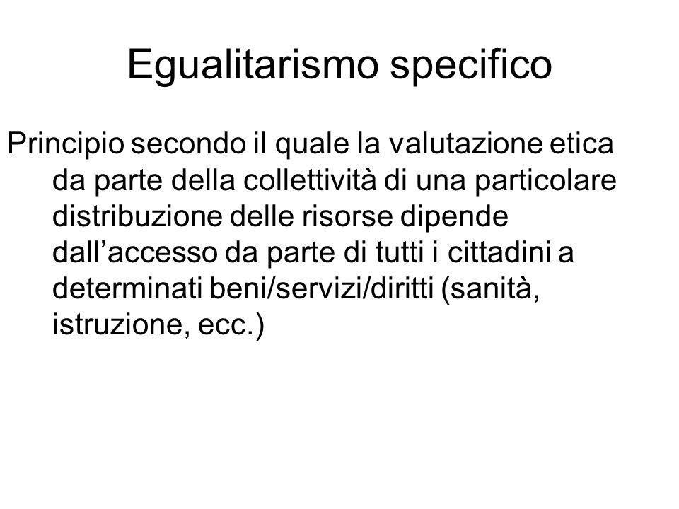 Egualitarismo specifico