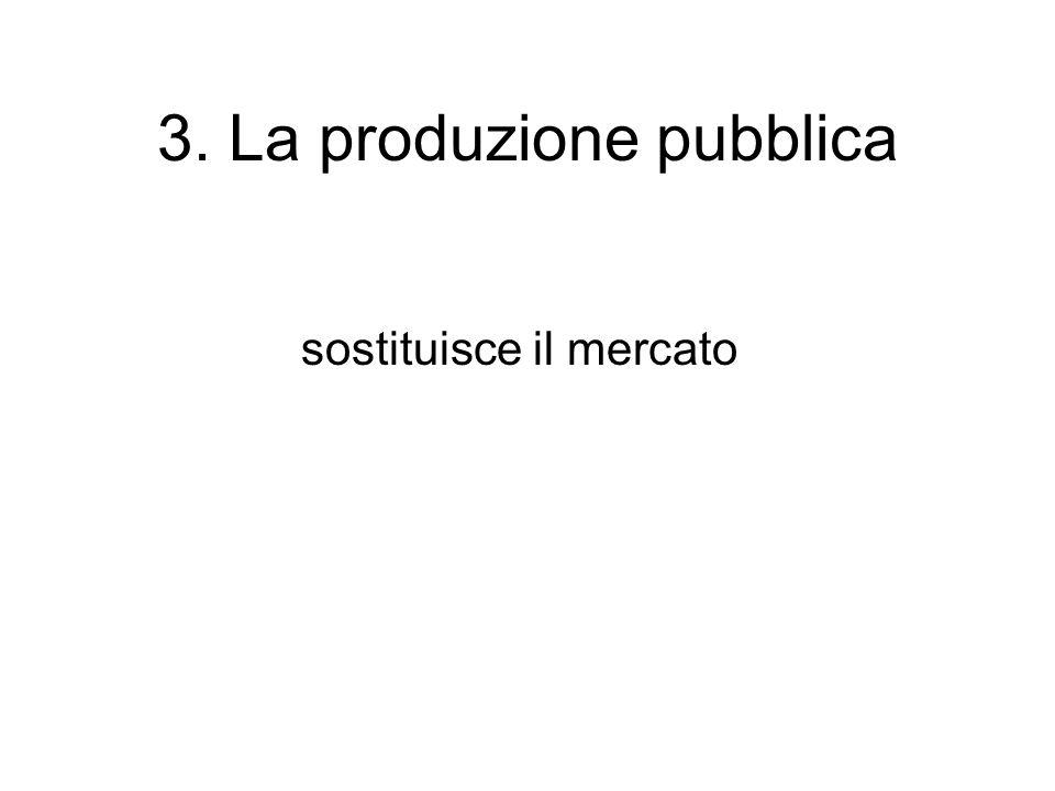 3. La produzione pubblica