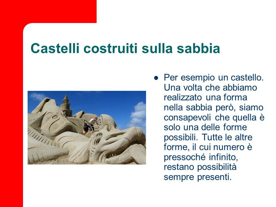 Castelli costruiti sulla sabbia