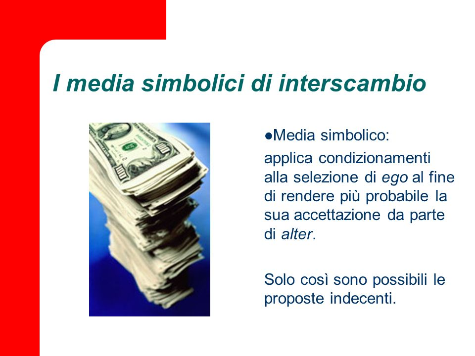 I media simbolici di interscambio