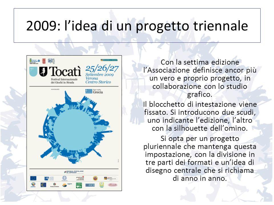 2009: l'idea di un progetto triennale