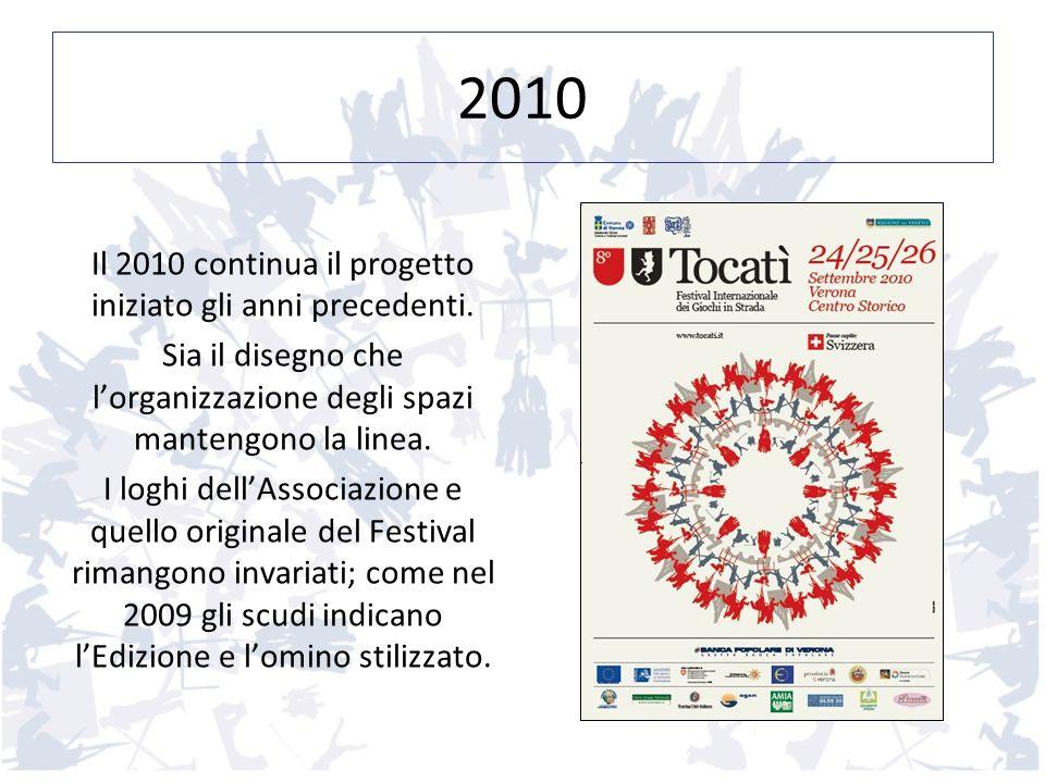 2010 Il 2010 continua il progetto iniziato gli anni precedenti.