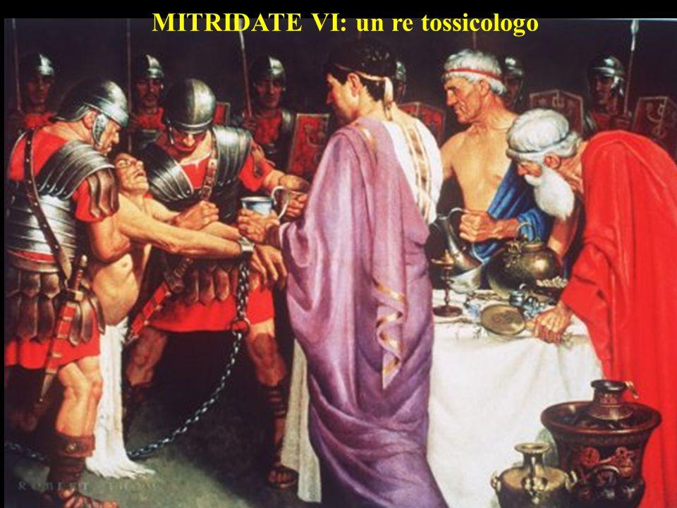 MITRIDATE VI: un re tossicologo