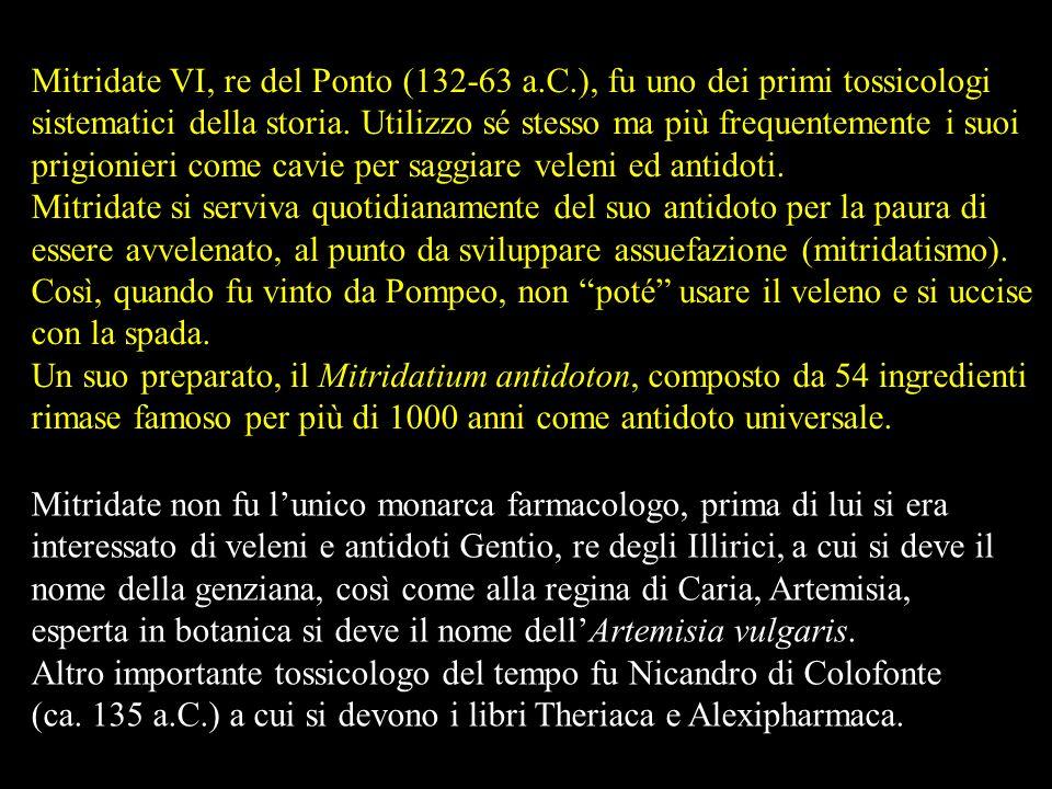 Mitridate VI, re del Ponto (132-63 a. C